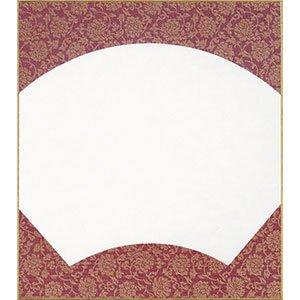 画像1: 大色紙 どんす紙 平外 えんじ  10枚入 (1)