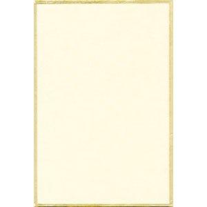 画像1: カルタ判色紙 (短冊1/4) 鳥の子200枚 (1)