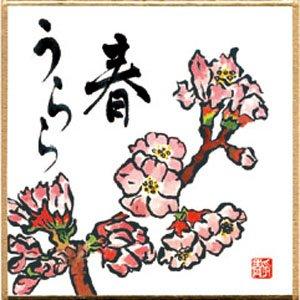 画像1: 豆色紙 印刷色紙「春うらら」 5枚入 (1)