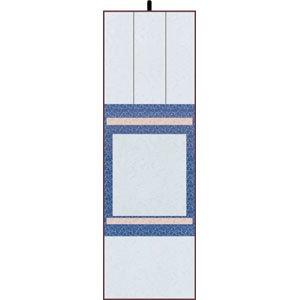 画像1: 掛軸たとう 大色紙用 青 (1)