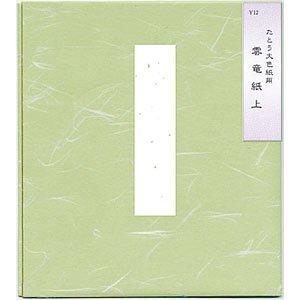 画像1: 大色紙用色紙たとう 雲竜紙上 1P×10セット (1)