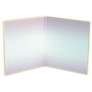 画像1: 二つ折寸松庵色紙 砂子ぼかし10枚入 紫 (1)